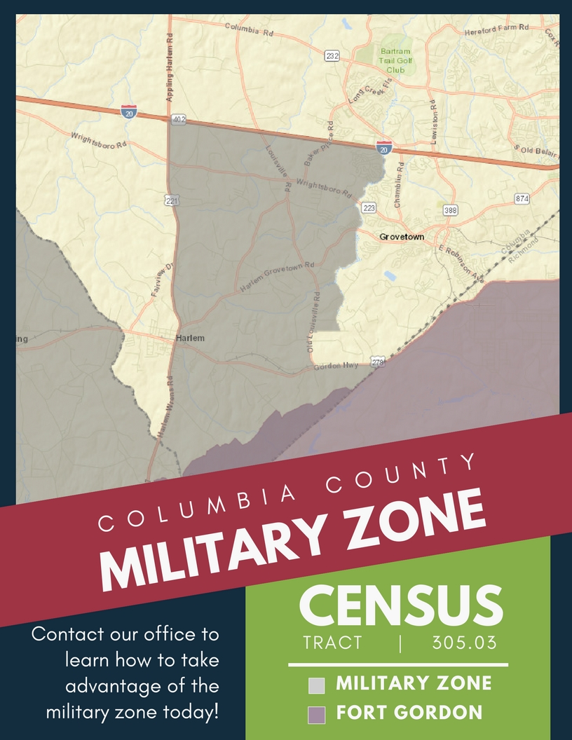 Military Zone - Columbia County